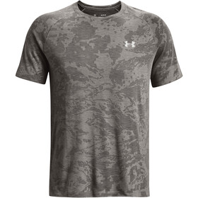 Under Armour Streaker 2.0 Camo Short Sleeve Shirt Men concrete